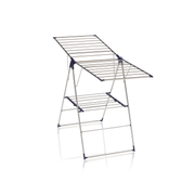 LEIFHEIT Roma 150 Clothes horse wing Blue, Stainless steel