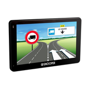 "Snooper PL5200, Danish, German, Dutch, English, Spanish, Finnish, French, Italian, Norwegian, Polish, Portuguese,..., All Europe, 12.7 cm (5""), 480 x 272 pixels, Horizontal, 16:9"