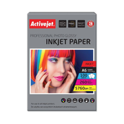 Activejet AP6-260GR100 photo paper for ink printers