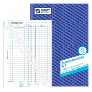 Avery 427, Blue, White, Paper, 210 mm, 297 mm