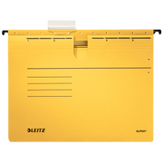 Leitz Alpha hanging folder A4 Cardboard, Metal Yellow 5 pc(s)