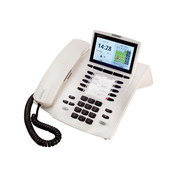 AGFEO ST 45 IP IP phone White Wired handset LCD