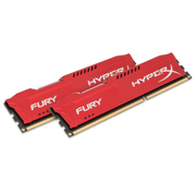 HyperX FURY Red 8GB 1600MHz DDR3 Speichermodul 2 x 4 GB