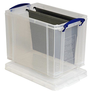 Really Useful Boxes UB19LC Dateiablagebox Transparent