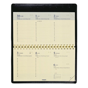 Brepols Omniplan Palermo Classic Weekly appointment book Black