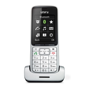 Unify SL5 DECT telephone Caller ID Black, Silver