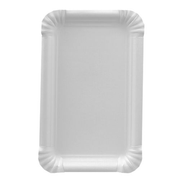 Papstar 11057 dining plate Rectangular Paper White 250 pc(s)