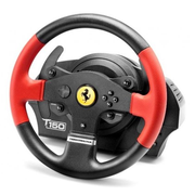 Thrustmaster T150 Ferrari Wheel Force Feedback Black, Red USB Steering wheel + Pedals PC, PlayStation 4, Playstation 3