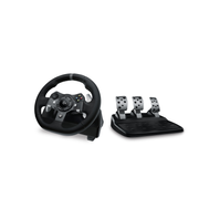 Logitech G G920 Black USB 2.0 Steering wheel + Pedals Analogue / Digital PC, Xbox One
