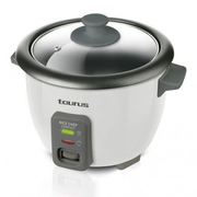 Taurus Rice Chef Compact rice cooker 0.6 L 700 W Black, Grey