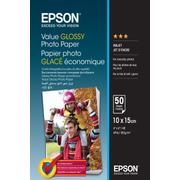 Epson Value Glossy Photo Paper - 10x15cm - 50 sheets