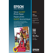 Epson Value Glossy Photo Paper - 10x15cm - 100 sheets