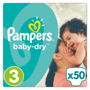 Pampers 4015400844044 disposable diaper Boy/Girl 3 50 pc(s)
