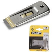 Stanley Professional glass scraper replacement blades