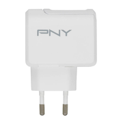 PNY P-AC-UF-WEU01-RB mobile device charger White Indoor