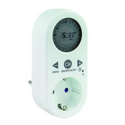 REV 0025030102 electrical timer White Daily timer