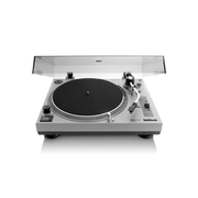 Lenco L-3808 Direct drive audio turntable Black, Grey