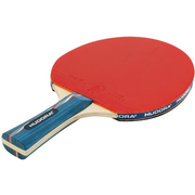HUDORA 76266 table tennis racket Foam, Wood Blue, Red 1 pc(s)