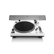 Lenco L-3808 Direct drive audio turntable Black, White