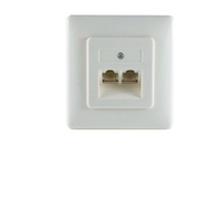 shiverpeaks BS74241-4 socket-outlet White