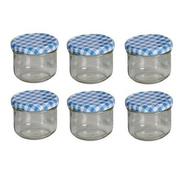 MyBasics 121675 jar Round Glass Transparent