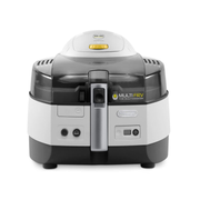 DeLonghi EXTRA FH1363, Low fat fryer, 1.7 kg, Single, Black, Stainless steel, Stand-alone, 1400 W