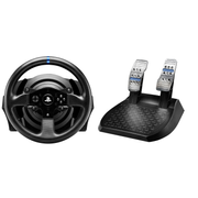 Thrustmaster T300RS, Steering wheel + Pedals, PC, Playstation 3, PlayStation 4, D-pad, Wired, USB 2.0, Black