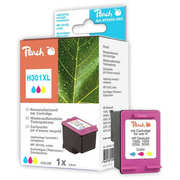 Peach 314234, Pigment-based ink, Cyan, magenta, Yellow, HP DeskJet 1000 HP DeskJet 1010 HP DeskJet 1050 HP DeskJet 1050 a HP DeskJet 1510 HP DeskJet..., 1 pc(s), CH564EE, No. 301XL