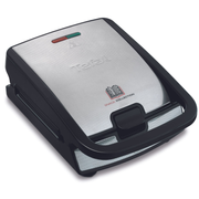 Tefal Snack Collection SW 852 D sandwich maker 700 W Black, Stainless steel