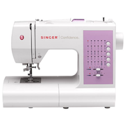 SINGER 7463 Confidence, Pink,White, Semi-automatic sewing machine, Sewing, Buttons, Electric