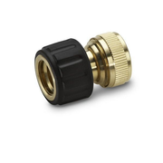 Kärcher 2.645-016.0 water hose fitting Brass Black, Brass 1 pc(s)