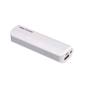 RealPower PB-2600 power bank Lithium-Ion (Li-Ion) 2600 mAh White