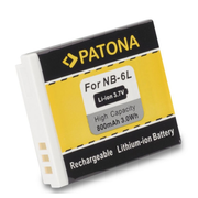 PATONA 1006 camera/camcorder battery Lithium-Ion (Li-Ion) 800 mAh