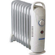 Mesko MS7805 electric space heater Indoor White 1000 W Oil electric space heater