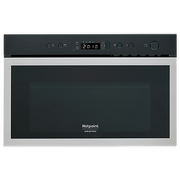 Hotpoint MN 613 IX HA Built-in Combination microwave 22 L 750 W Stainless steel