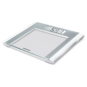 Soehnle Comfort 200 Square Silver, White Electronic personal scale