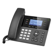 Grandstream Networks GXP1760 IP phone Black Wired handset 6 lines LCD