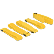 DeLOCK 18708 hook/loop fastener Yellow 5 pc(s)
