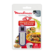 Moulinex XA600111 multi cooker accessory Recipes USB flash drive