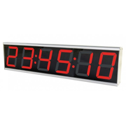 ALLNET ALL-POE-CLK-1 wall clock Digital wall clock Rectangle Grey