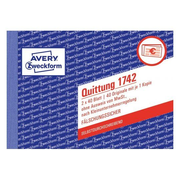 Avery 1742 accounting form/book A6 40 pages