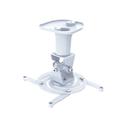 Techly Universal Ceiling Bracket for Projector, White ICA-PM 100WH