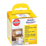 Avery Zweckform ASS0722430 self-adhesive label Rectangle Permanent White 110 pc(s)