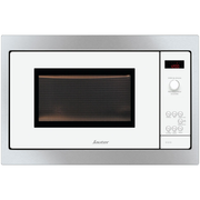 Sauter SMS4340W microwave Built-in 26 L 900 W Black, Stainless steel, White