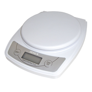 Genie 3606 EDS White Countertop Rectangle Electronic kitchen scale