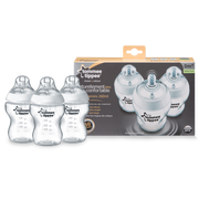 Tommee Tippee Biberons Easi-Vent feeding bottle 260 ml Transparent, White