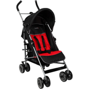 Tex 105574639 baby carriage Lightweight stroller 1 seat(s) Black, Red