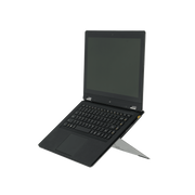 R-Go Tools R-Go Riser Attachable Laptop Stand, adjustable, silver