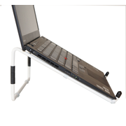 R-Go Tools R-Go Steel Travel Laptop Stand, white