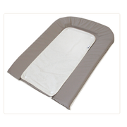 Candide 153261 changing mat Cotton, Polyester Grey, White Flat